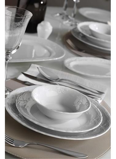 Kütahya Porselen Lalezar Yemek Takımı Seti 24 Prç. Renkli